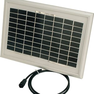 WeatherHawk Solcelle panel 5W (SP2-KT)